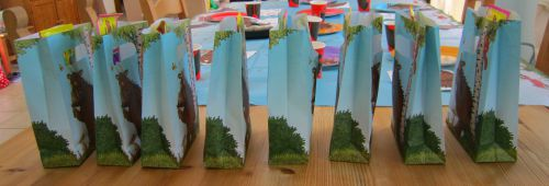 Adventures of Adam Gruffalo pre-made party bags