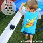 Adventures of Adam Incy Wincy Spider Guttering