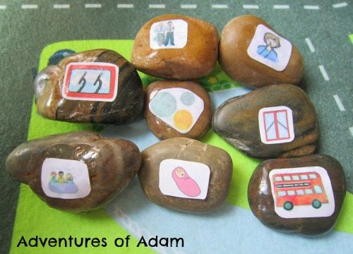 Adventures of Adam Story Stones Wheels on the bus