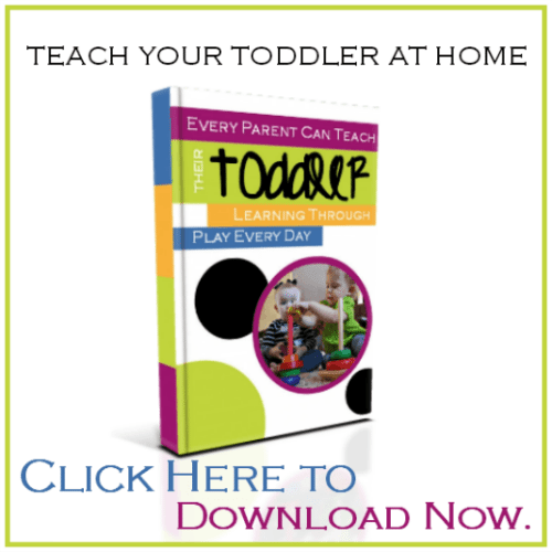 Teach Your Toddler At Home