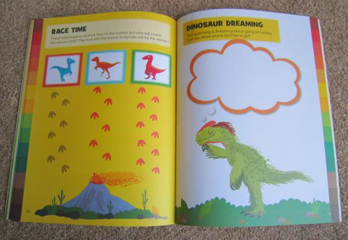 Adventures of Adam Toddler book about dinosaurs
