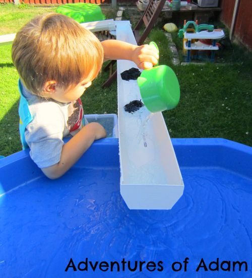 Adventures of Adam toddler guttering play