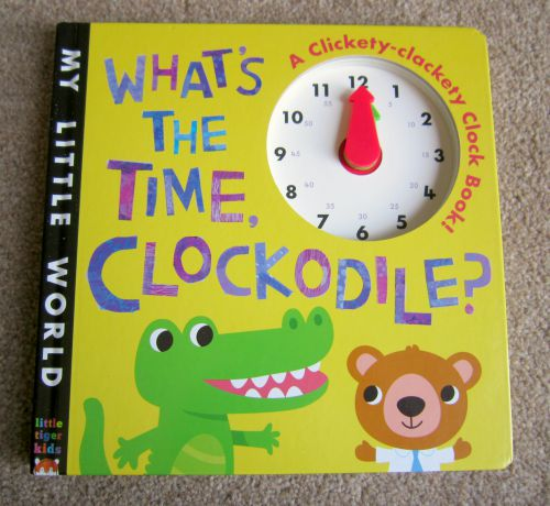 What's the time, Clockodile