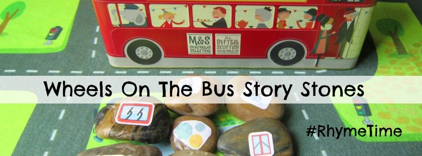 Wheels On The Bus Story Stones