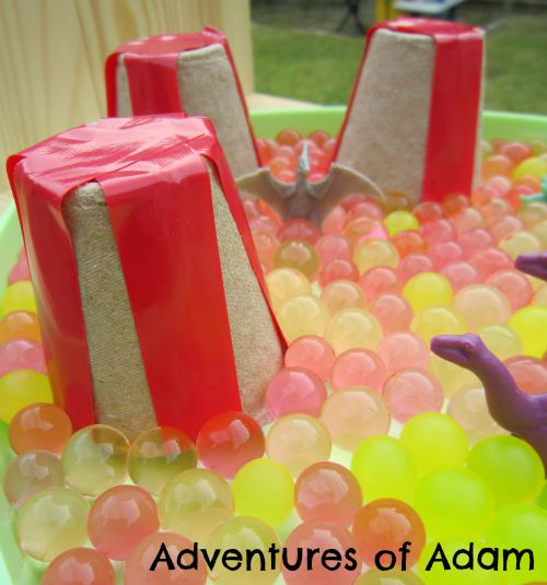 Adventures of Adam Easy to make volcanoes