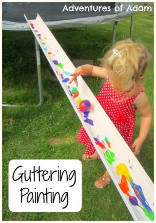 Guttering Painting