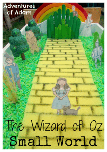 Adventures of Adam The Wizard of Oz Small World