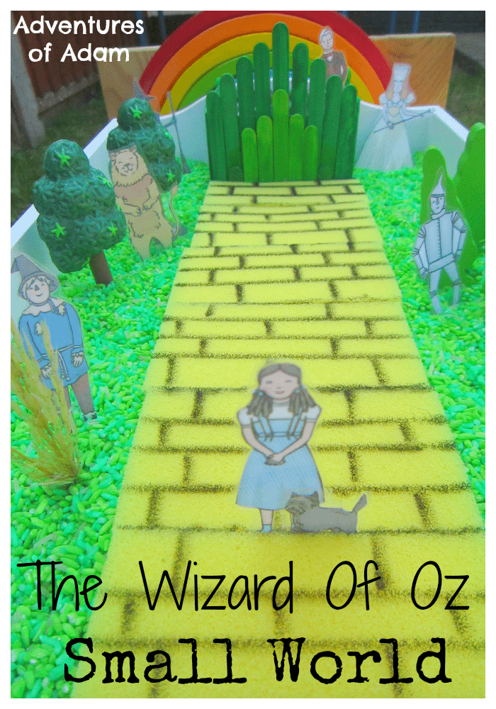 The Wizard of Oz Small World Adventures of Adam