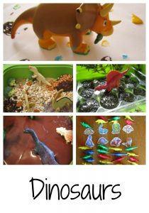 ways to play with dinosaurs