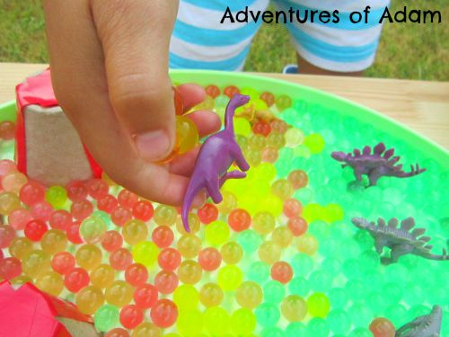 Adventures of Adam ways to play with dinosaurs