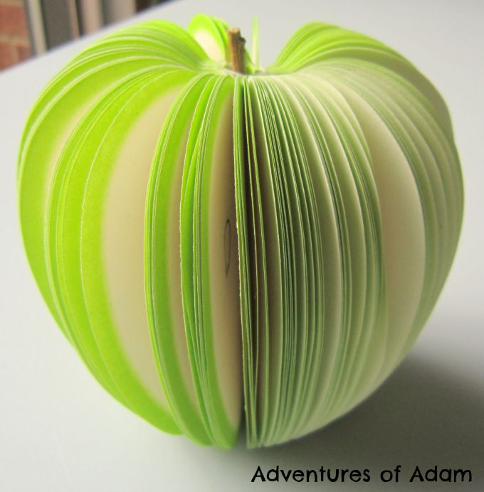 Adventures of Adam 3d Apple Notepad