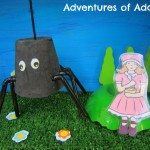 Adventures of Adam Along came a spider, who sat down beside her