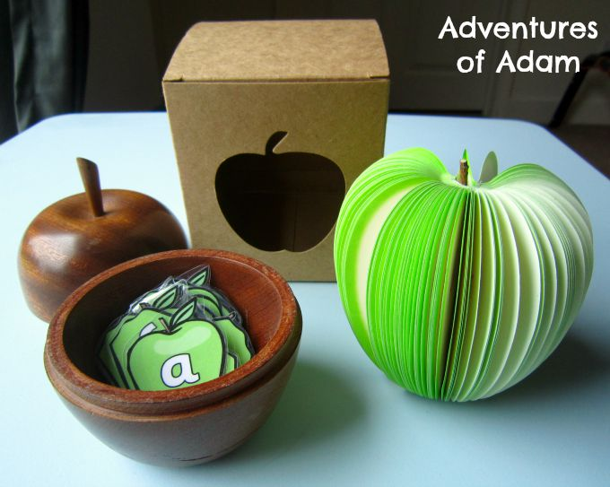 Adventures of Adam Apple alphabet recognition