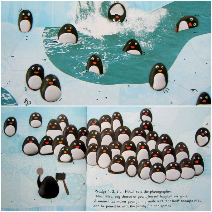 Adventures of Adam Hiku penguin characters