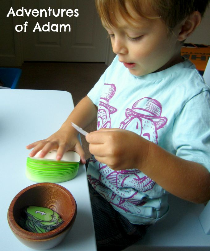 Adventures of Adam Kindergarten learning the alphabet