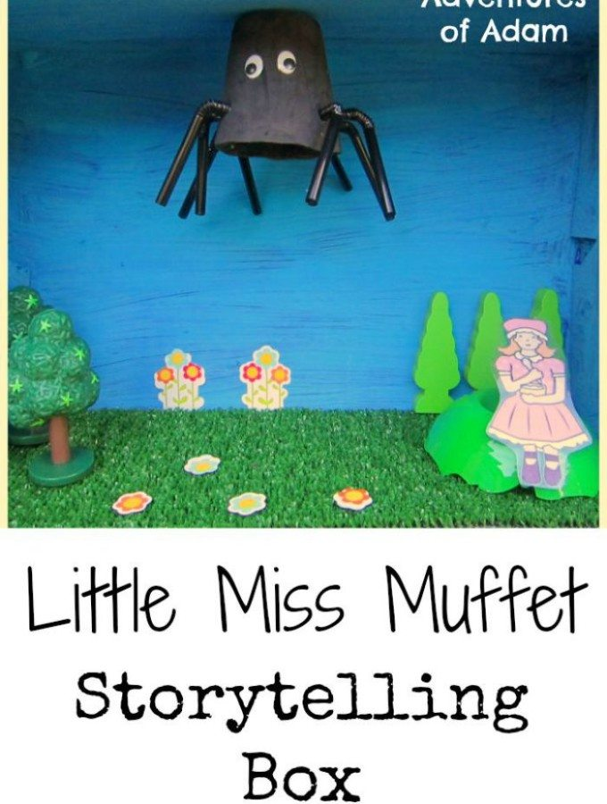 Little Miss Muffet Storytelling Box