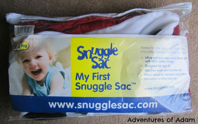 Adventures of Adam My First Snuggle Sac Review