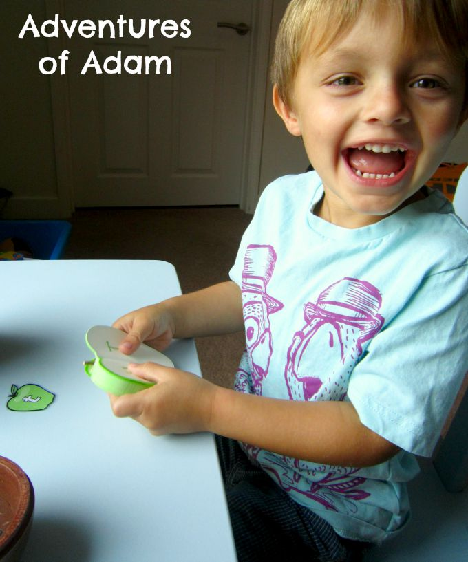 Adventures of Adam Preschool alphabet recognition