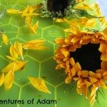 Adventures of Adam Sunflower Sensory Play