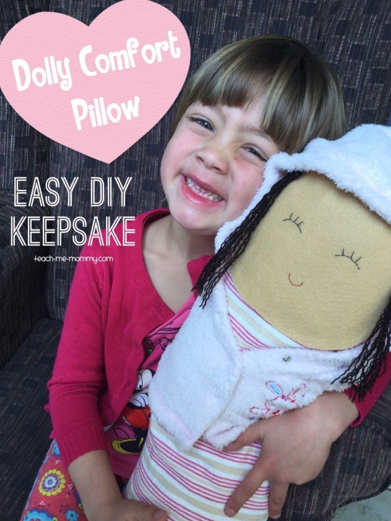 Teach Me Mommy Dolly Comfort Pillow