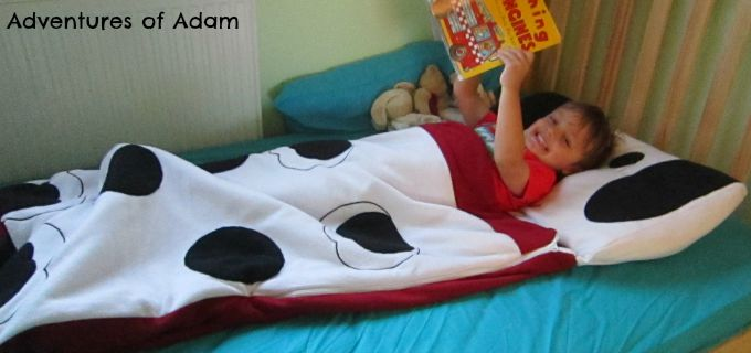 Adventures of Adam toddler bed time