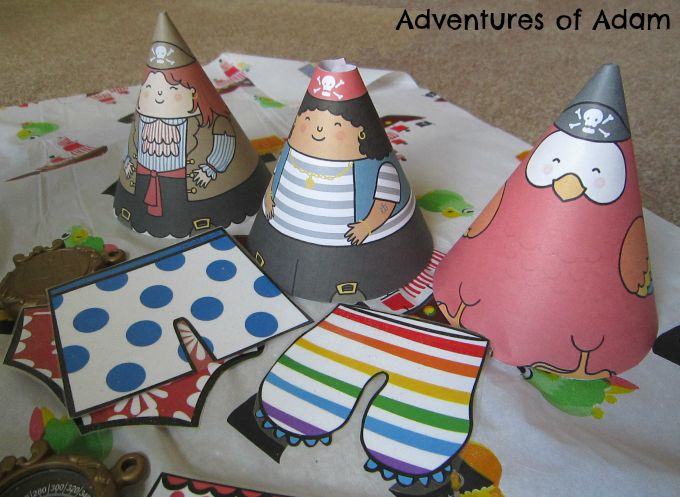 Adventures of Adam Underpants pirate play