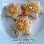 Twinkle Twinkle Dairy Free Star Biscuits from Crafty Kids At Home