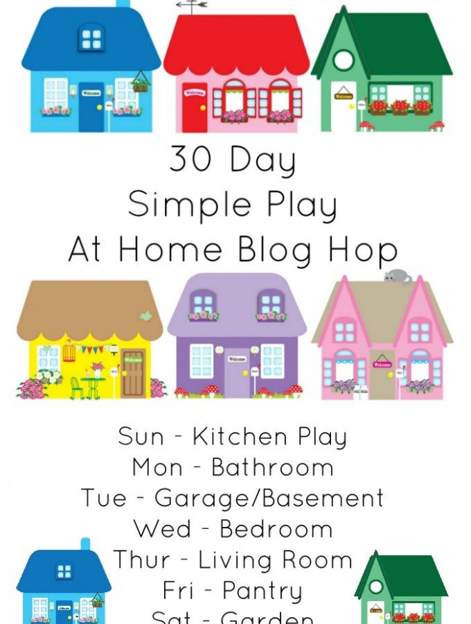 30 Day Simple Play At Home Blog Hop Adventures of Adam