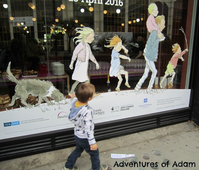 Adventures of Adam Bear Hunt London