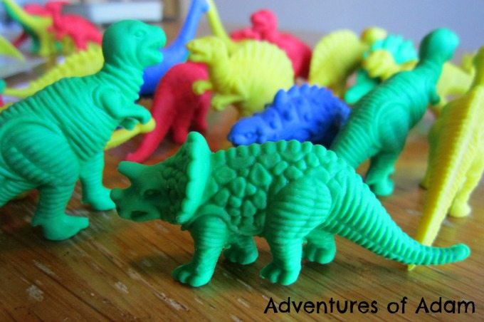 Adventures of Adam Dinosaur counting