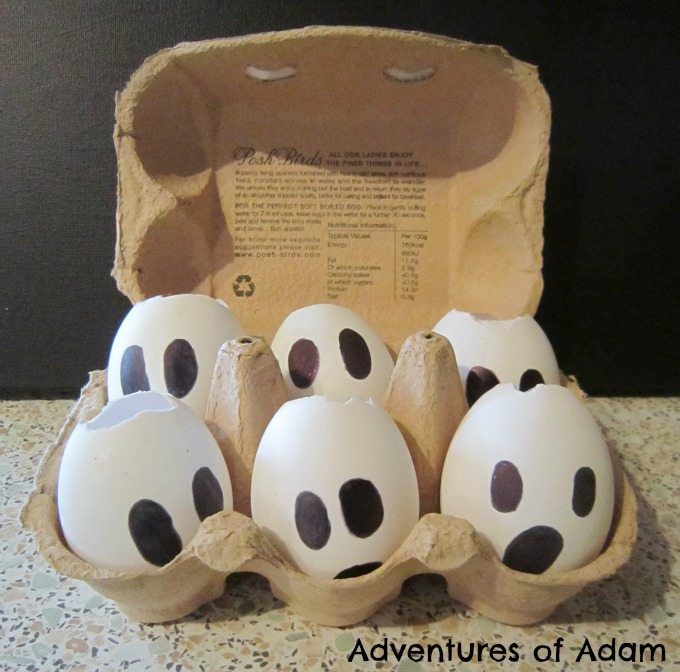 Adventures of Adam Duck egg ghosts