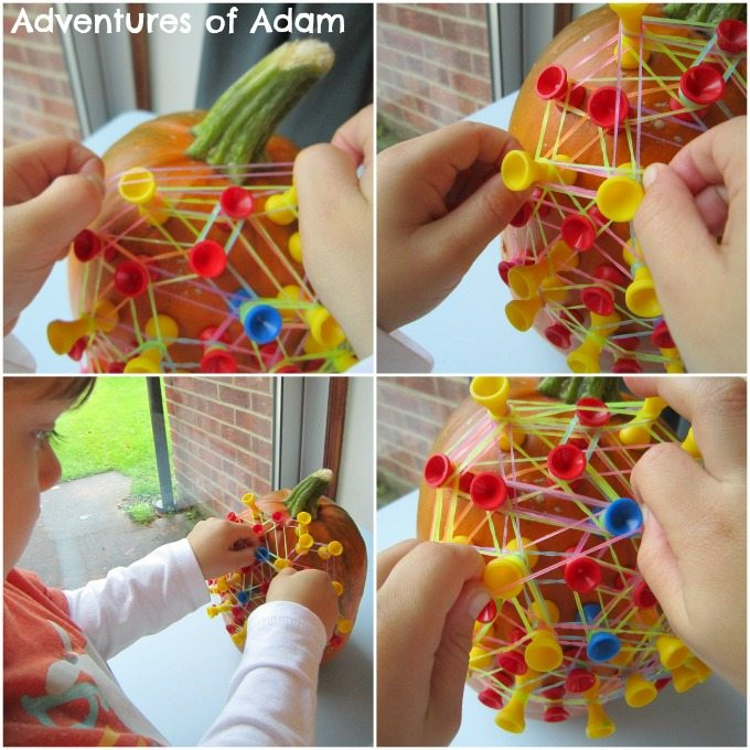 Adventures of Adam Fine motor skill pumpkin