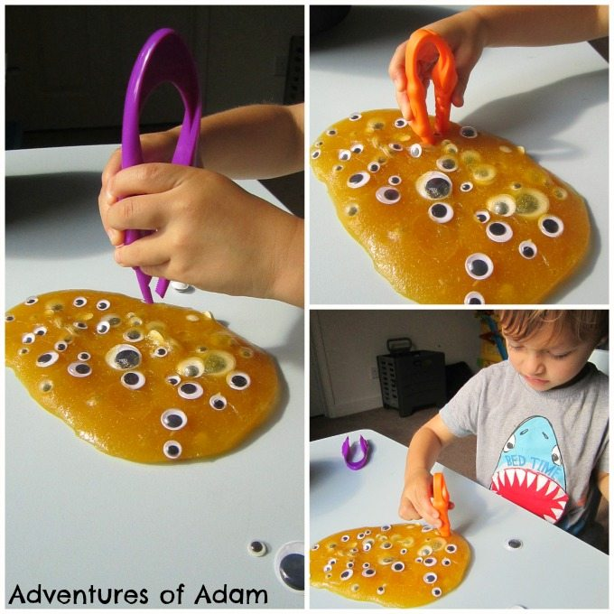 Adventures of Adam Fine motor skill slime