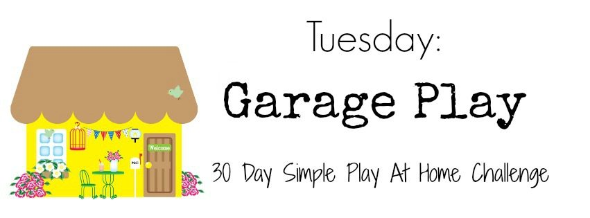 Garage play activities