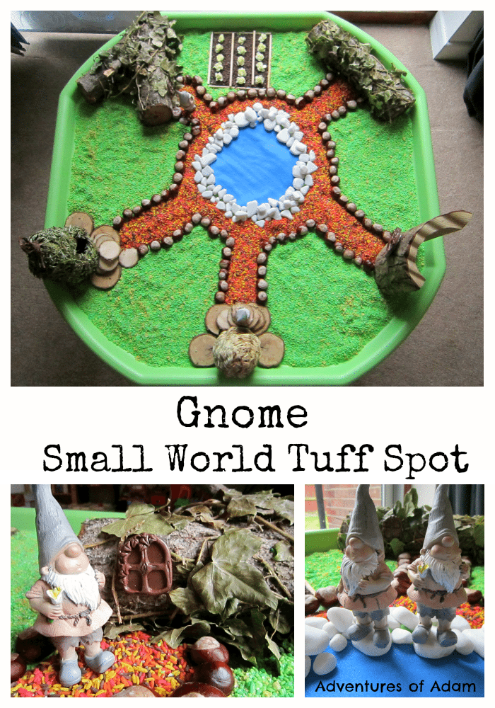 Gnome Small World Tuff Spot Adventures of Adam