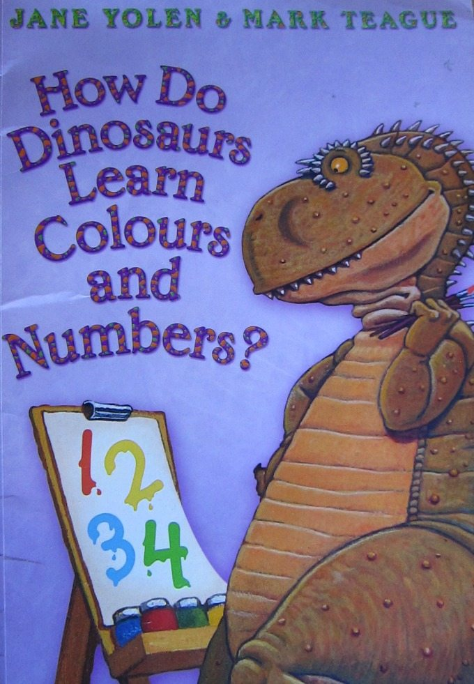 Adventures of Adam How Do Dinosaurs Learn Colours and numbers