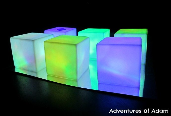 Adventures of Adam Light cube play