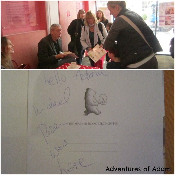 Adventures of Adam Meeting Michael Rosen