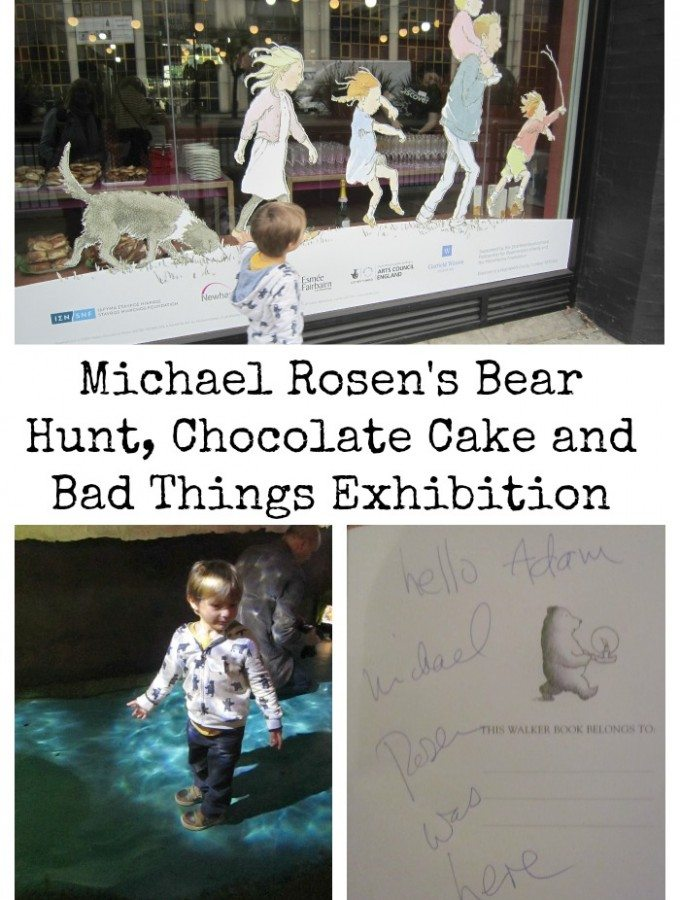 Adventures of Adam Michael Rosen's Bear Hunt, Chocolate Cake and Bad Things Exhibition