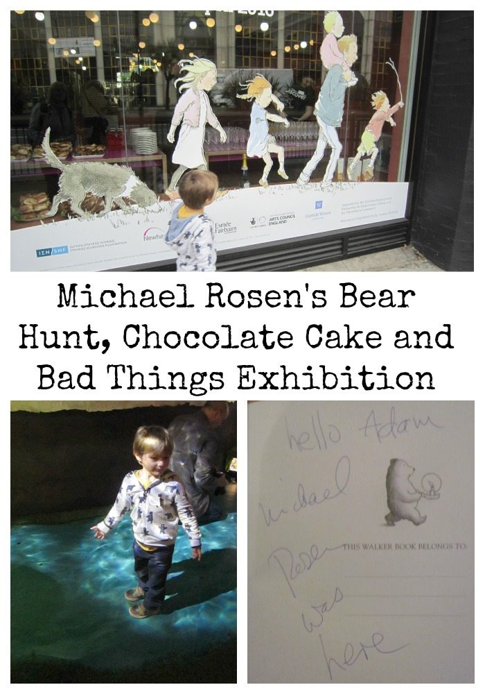 Michael Rosen Bear Hunt Chocolate Cake