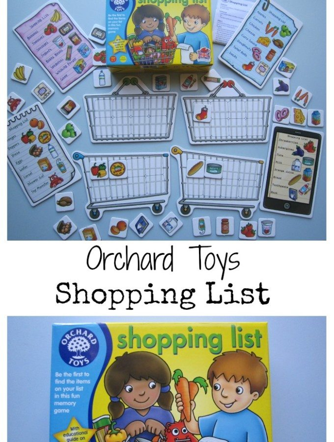 Shopping List Orchard Toys Review