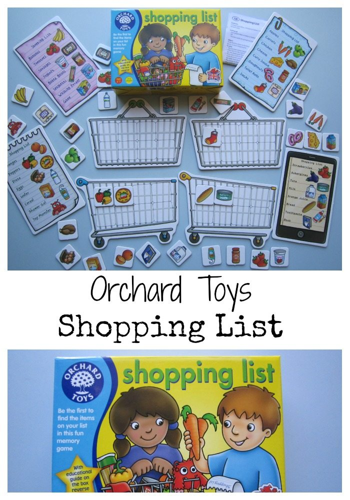 Orchard Toys Shopping List Review Adventures of Adam