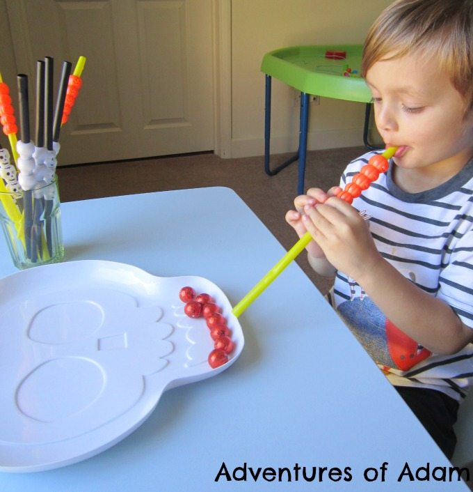 Adventures of Adam Pumpkin Straw play