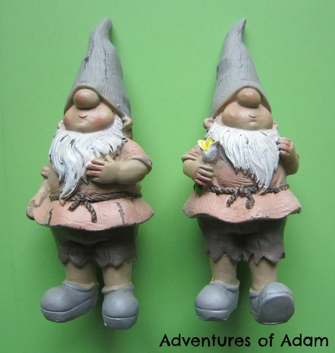 Adventures of Adam Rowan and Brody The Garden Loving Gnome Ornaments from Gardens 2 You