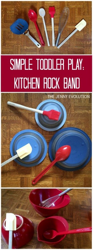 Simple-Toddler-Play-Idea-Kitchen-Rock-Band