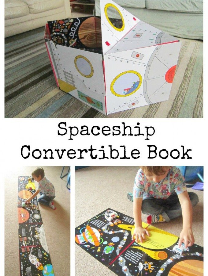 Adventures of Adam Spaceship Convertible Book