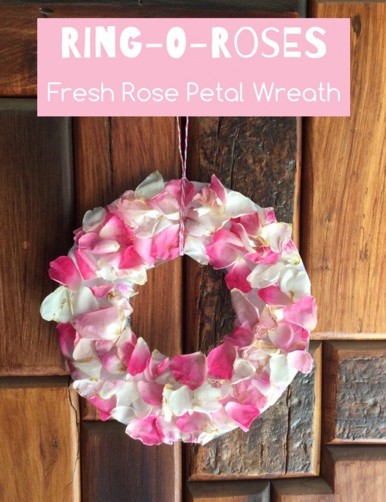 Teach Me Mommy Petal Wreath