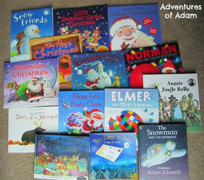 Children Christmas Book Advent stories