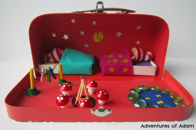 Christmas Elf suitcase