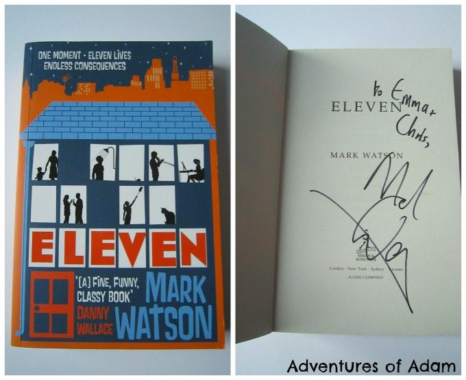 Eleven signed by Mark Watson
